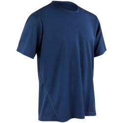 Textiel Heren T-shirts korte mouwen Spiro S253M Marine