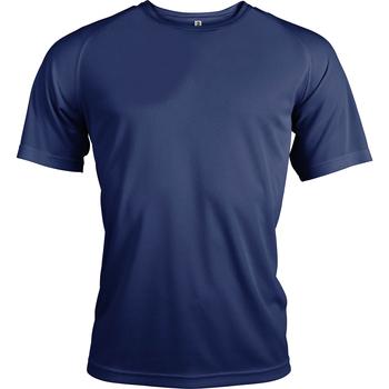 Textiel Heren T-shirts korte mouwen Kariban Proact PA438 Marine