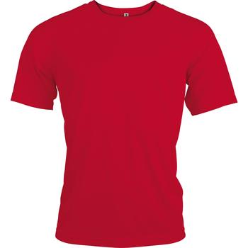 Textiel Heren T-shirts korte mouwen Kariban Proact PA438 Rood