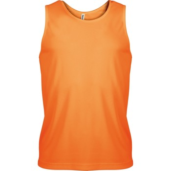 Textiel Heren Mouwloze tops Kariban Proact PA441 Oranje