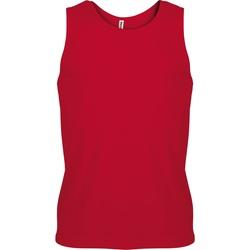 Textiel Heren Mouwloze tops Kariban Proact PA441 Rood
