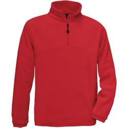 Textiel Heren Fleece B And C Highlander Rood