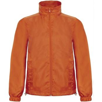 Textiel Heren Windjack B And C ID.601 Oranje