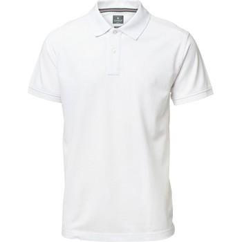 Textiel Heren Polo's korte mouwen Nimbus NB37M Wit