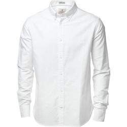 Textiel Heren Overhemden lange mouwen Nimbus NB45M Wit