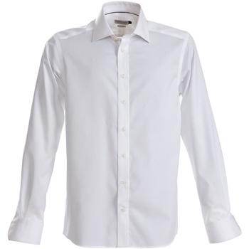Textiel Heren Overhemden lange mouwen J Harvest & Frost JF001 Wit