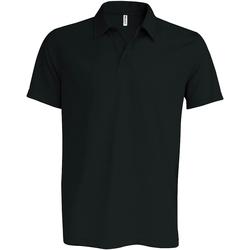 Textiel Heren Polo's korte mouwen Kariban Proact PA482 Zwart