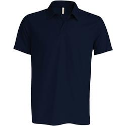 Textiel Heren Polo's korte mouwen Kariban Proact PA482 Marine