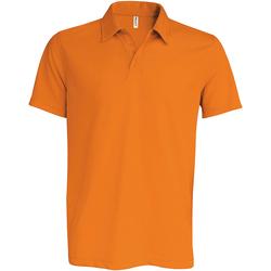 Textiel Heren Polo's korte mouwen Kariban Proact PA482 Oranje