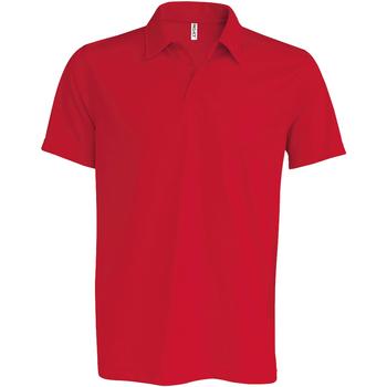 Textiel Heren Polo's korte mouwen Kariban Proact PA482 Rood