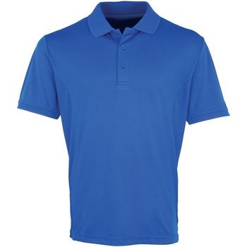 Textiel Heren Polo's korte mouwen Premier PR615 Koninklijk