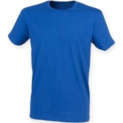 Textiel Heren T-shirts korte mouwen Skinni Fit SF121 Koninklijk