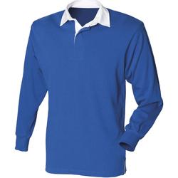 Textiel Heren Polo's lange mouwen Front Row Rugby Koninklijk