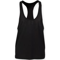 Textiel Heren Mouwloze tops Skinni Fit SF236 Zwart