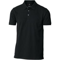 Textiel Heren Polo's korte mouwen Nimbus NB52M Zwart