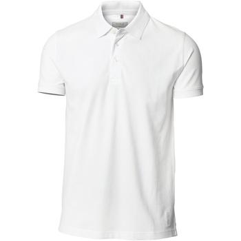 Textiel Heren Polo's korte mouwen Nimbus NB52M Wit