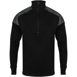 Textiel Heren Trainings jassen Tombo TL555 Zwart