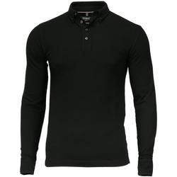Textiel Heren Polo's lange mouwen Nimbus NB71M Zwart