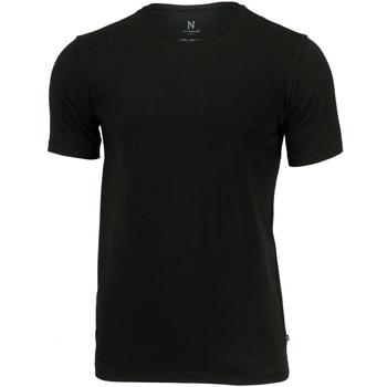 Textiel Heren T-shirts korte mouwen Nimbus NB73M Zwart