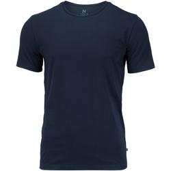 Textiel Heren T-shirts korte mouwen Nimbus NB73M Marine