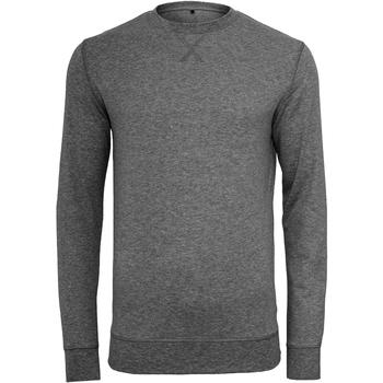 Textiel Heren Truien Build Your Brand BY010 Houtskool