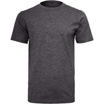 Textiel Heren T-shirts korte mouwen Build Your Brand Round Neck Houtskool