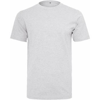 Textiel Heren T-shirts korte mouwen Build Your Brand Round Neck Wit