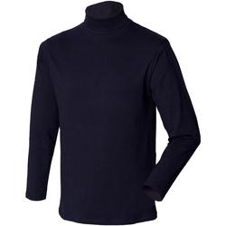 Textiel Heren Truien Henbury HB020 Marine