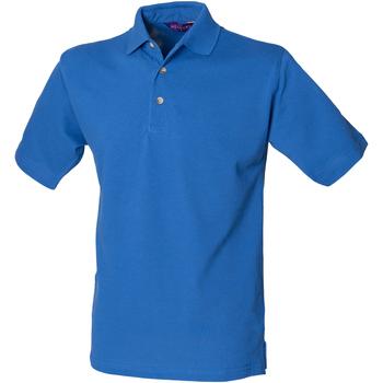 Textiel Heren Polo's korte mouwen Henbury HB100 Koninklijk