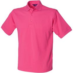 Textiel Heren Polo's korte mouwen Henbury HB400 Fuchsia