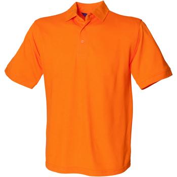 Textiel Heren Polo's korte mouwen Henbury HB400 Oranje