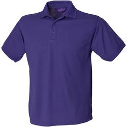 Textiel Heren Polo's korte mouwen Henbury HB400 Paars