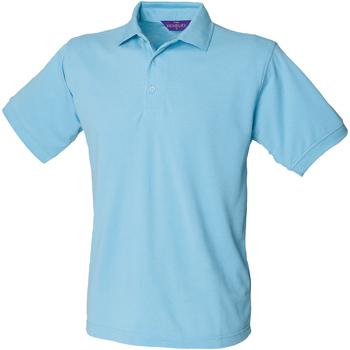 Textiel Heren Polo's korte mouwen Henbury HB400 Sky