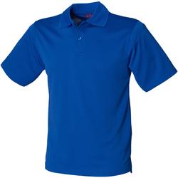 Textiel Heren Polo's korte mouwen Henbury HB475 Koninklijk