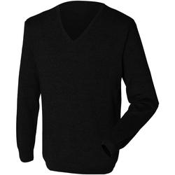 Textiel Heren Truien Henbury 12 Gauge Zwart