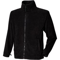 Textiel Heren Fleece Henbury  Zwart
