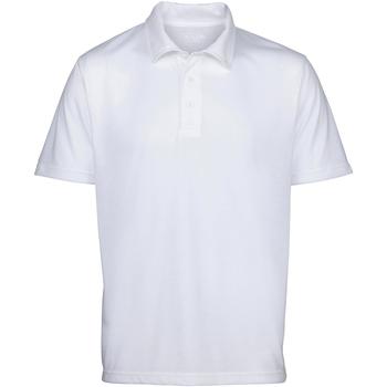 Textiel Heren Polo's korte mouwen Awdis Sublimation Wit