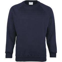 Textiel Heren Sweaters / Sweatshirts Maddins MD01M Marine
