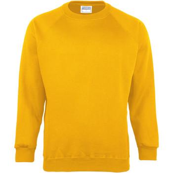 Textiel Heren Sweaters / Sweatshirts Maddins MD01M Zonnebloem
