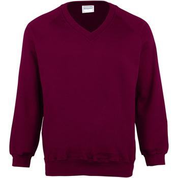 Textiel Heren Sweaters / Sweatshirts Maddins MD02M Bourgondië