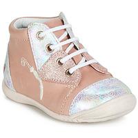 Schoenen Meisjes Hoge sneakers GBB VERONA Roze