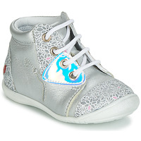 Schoenen Meisjes Hoge sneakers GBB VERONA Zilver
