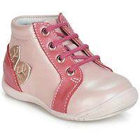 Schoenen Meisjes Hoge sneakers GBB FRANCKIE Roze