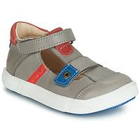 Schoenen Jongens Sandalen / Open schoenen GBB VORETO Grijs / Blauw / Rood