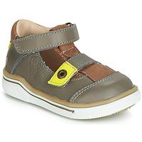 Schoenen Jongens Sandalen / Open schoenen GBB PORRO Grijs / Geel