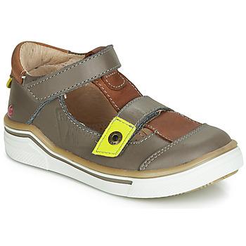 Schoenen Jongens Sandalen / Open schoenen GBB PORRO Grijs / Bruin