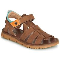 Schoenen Jongens Sandalen / Open schoenen GBB PATHE Bruin