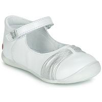 Schoenen Meisjes Ballerina's GBB MALLA Wit