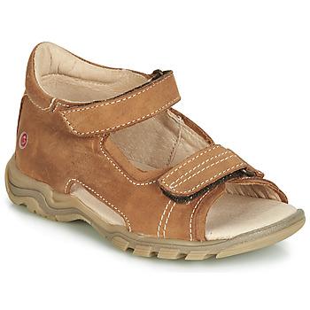 Schoenen Kinderen Sandalen / Open schoenen GBB PARMO Bruin