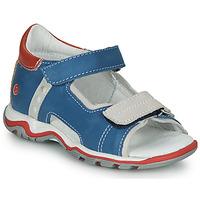 Schoenen Kinderen Sandalen / Open schoenen GBB PARMO Blauw / Rood